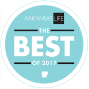 Arkansas Life's 'The Best of 2017' Badge.